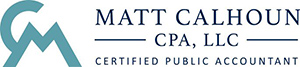 Matt Calhoun, Certified CPA Logo